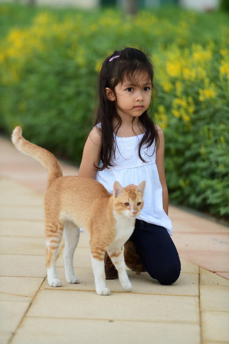 S kočičkou